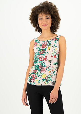 rückenfein top, colibri lovedance, Shirts, Rosa