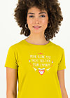 T-Shirt tic tac, simply yellow, Shirts, Gelb