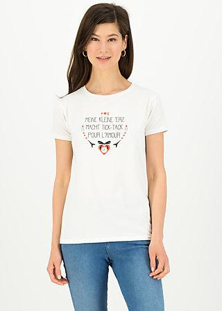 tic tac tee, simply white, Shirts, Weiß