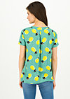 Tie Neck Blouse tour de france, pineapple party, Blouses & Tunics, Turquoise