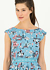 tres chic chansonnette robe, ohlala paris, Dresses, Blue