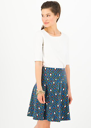 vive l'amour skirt, mister pot plant, Skirts, Blue