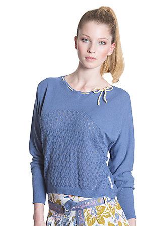 belleboxy pullover, blue beauty, Blau