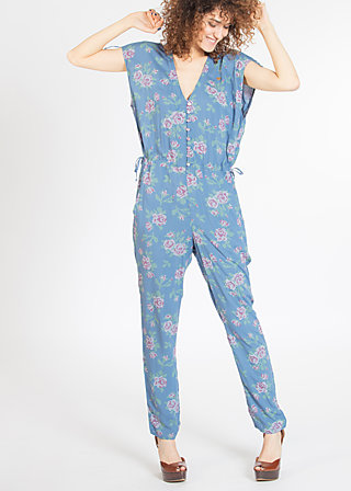 coture mon amour suit, be the queen, Jumpsuits, Blau