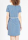eternal ease dress, snowwhite dots, Kleider, Blau