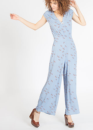 lure of tropics suit, swallow swing, Trousers, Blau