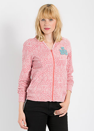 base ballerina zip, romantic sightseeing, Cardigans, Rot