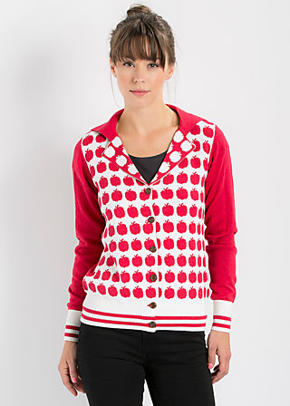bowling bee cardy, audrey apple, Cardigans, Rot