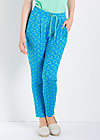 central park picnic pants, wallflower street, Trousers, Blau