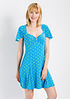 empire princess dress, wallflower street, Jerseykleider, Blau