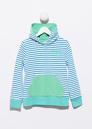 hang around hoodie, highlines, Pullover, Blau