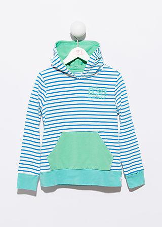 hang around hoodie, highlines, Pullover, Blau