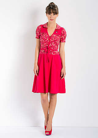 highline dress, daily diva, Kleider, Rot