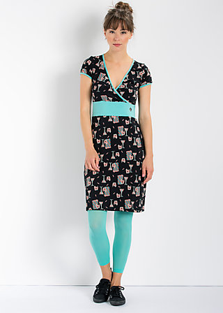 holly golly dress, soul food snack, Kleider, Schwarz