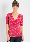 irresistible cache tee, daily diva, Shirts, Rot