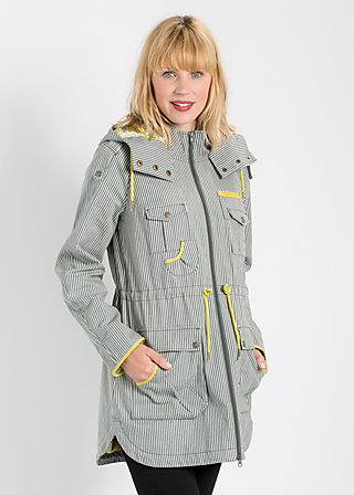 liberty lane field jacket, canal street stripes, Jacken & Mäntel, Blau