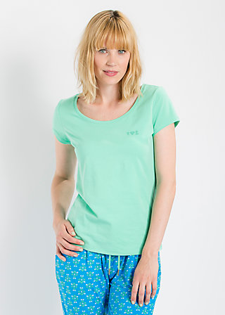 logo shortsleeve u-shirt, liberty green, Shirts, Grün