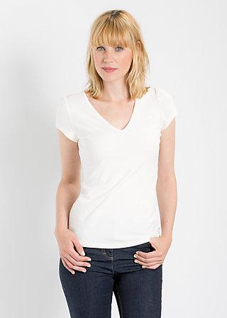 logo shortsleeve v-shirt, midday sun, Shirts, Weiß
