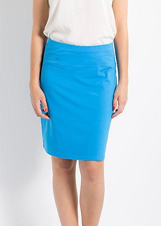 logo skirt, fountain blue, Röcke, Blau