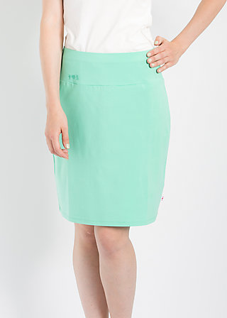 logo skirt, liberty green, Röcke, Grün