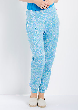 lovely lazyness pants, blue sky manhattan, Hosen, Blau