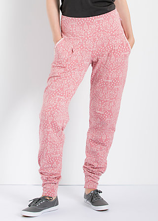 lovely lazyness pants, romantic sightseeing, Hosen, Rot