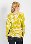 tiny tummy longsie, sunny sunday, Shirts, Gelb