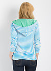 trench kissing pully, highlines, Pullover, Blau
