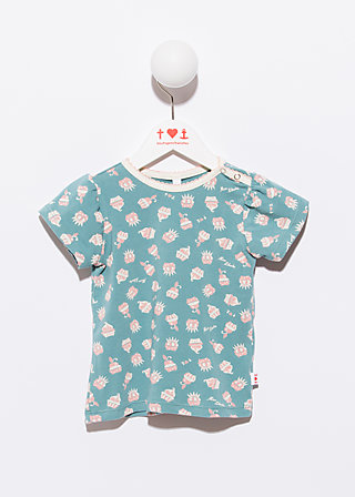 troublemaker girly tee, creamy dreamcake, Shirts, Blau