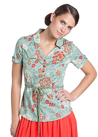 bee bobbele blouse, marigold, Grün