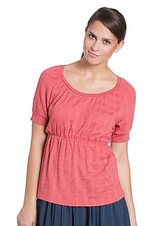 empire manier tee, late summer blossom, Rot