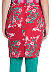 lucky cloud skirt, red roses, Rot