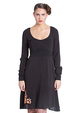 retro romance dress, uptown girl, Schwarz
