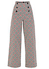 a walk in the park pants, classic chic, Hosen, Weiß