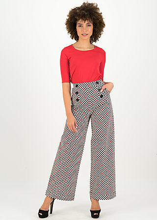 a walk in the park pants, classic chic, Trousers, White