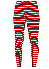 kiss me quick legs, les stripes, Leggings, Rot