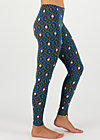 kiss me quick legs, mister pot plant, Leggings, Blau