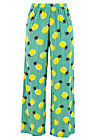 Sommerhose lady flatterby, pineapple party, Hosen, Türkis