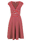 ohlala tralala robe, les stripes, Dresses, Red