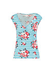 Sleeveless Top sommerliebe, les roses, Shirts, Blue