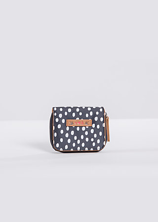 daydream wallet, dark shadow dot, Portemonnaies, Schwarz