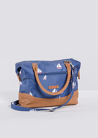 esterhazy ellbow bag, sail the sea, Handtaschen, Blau