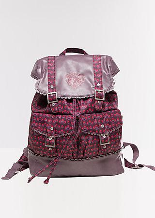 palatschinken daypack, deep blooming nuts, Reisetaschen, Rot