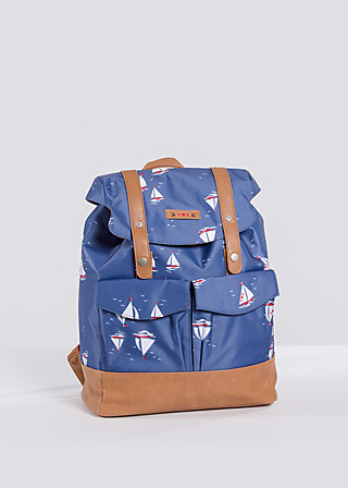 palatschinken daypack, sail the sea, Reisetaschen, Blau