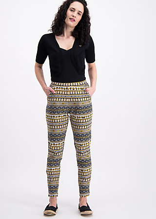 aztek athleisure pants, caravan of savanna, Joggers, Schwarz