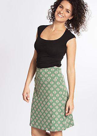 big kahuna klippklapp skirt, pinepink pineapple, Jerseyröcke, Grün