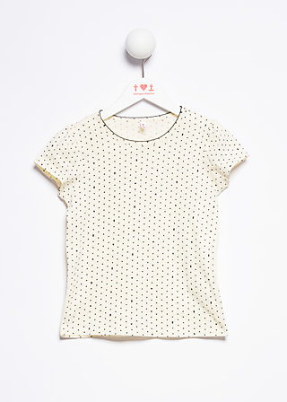 charming shirty, wasteland dots, Shirts, Weiß