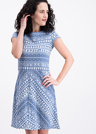 desert pleasures dress, caravan of oasis, Kleider, Blau