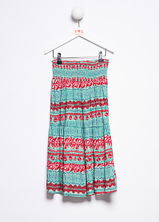 endless summer skirt , woven virgin, Röcke, Türkis