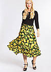 fiesta mexicana skirt, bold banana, Webröcke, Schwarz